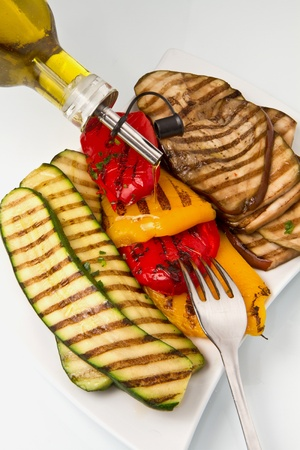 grilled vegetables Stock Photo - 8859639