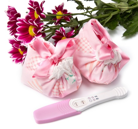 pregnant test Stock Photo - 9070604