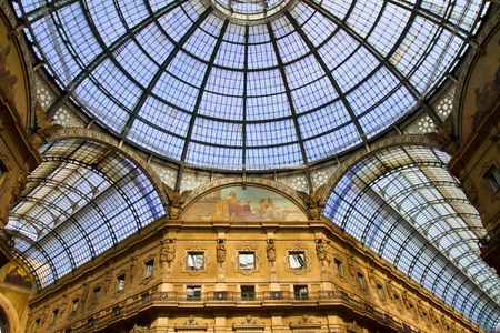 Vittorio Emanuele Gallery, Milan  photo