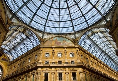 Vittorio Emanuele Gallery, Milan  photo