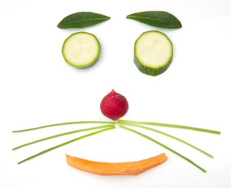 design by vegetables photo