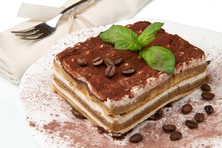 Tiramisu, classical dessert from Italian tradition photo
