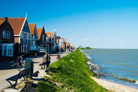 volendam: Touristic town of Volendam in Holland