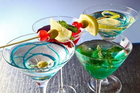 Most popular cocktails series photo