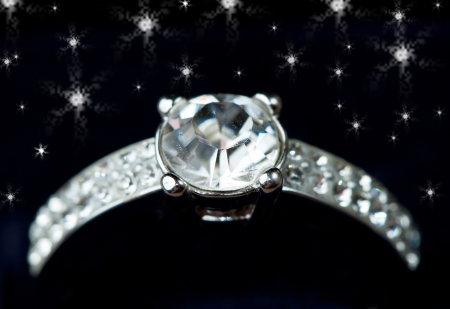 a ring diamond Stock Photo - 9924416