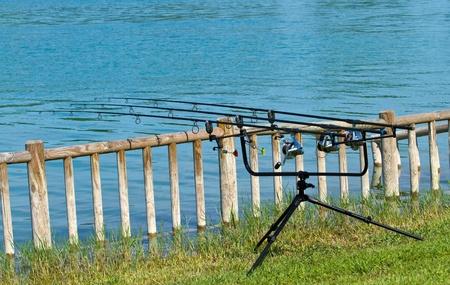bass fishing: Carpfishing session in the Lake
