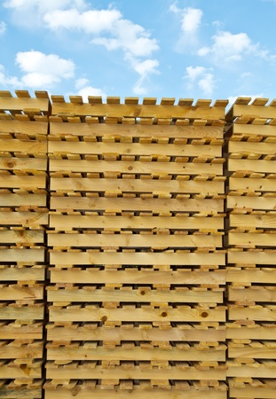 wood pallet photo