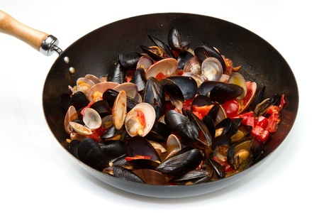 mollusk: casserole with mix of mollusk