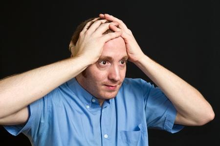 dudando: el hombre dudando