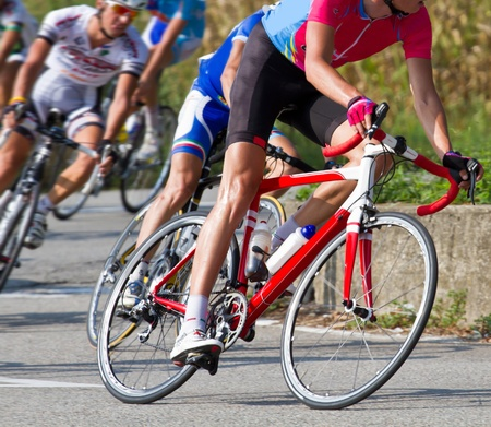 road cycling: bicycle race
