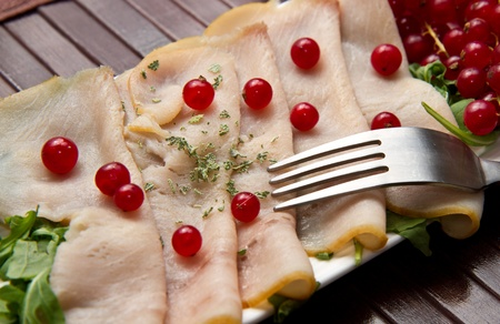 swordfish carpaccio photo