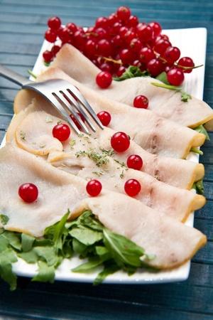 swordfish carpaccio Stock Photo - 10627644