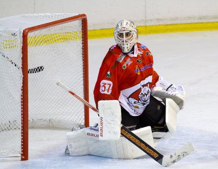 ice hockey goalie Stock Photo - 10752866