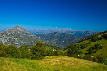 mountain  lecco, italy photo