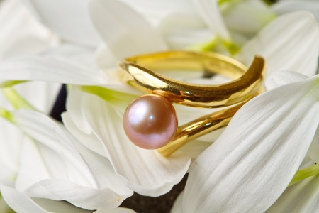 a violet perl ring photo
