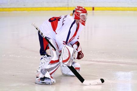 gardien de hockey sur glace