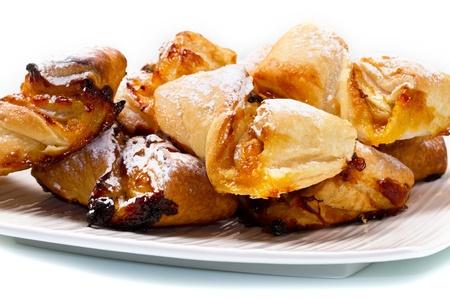 italian dessert with fruit  jam and raisins Stock Photo - 11591864