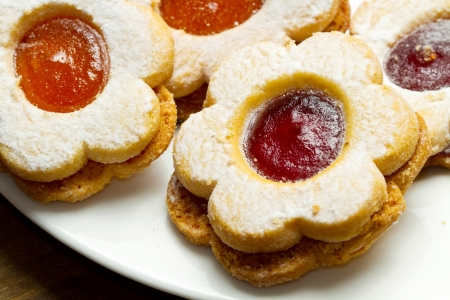 easter cookie: biscuits with jam