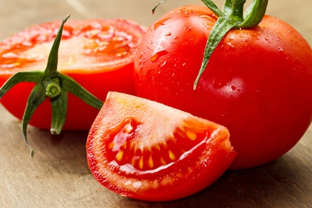 red fresh tomatoes Stock Photo - 11989280