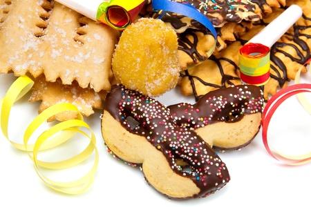 plato del buen comer: buñuelos de carnaval diferentes