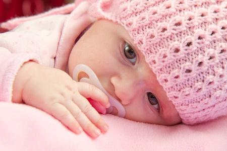 A cute little baby gir Stock Photo - 12117685