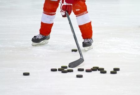 ice hockey player Stock Photo - 12408114