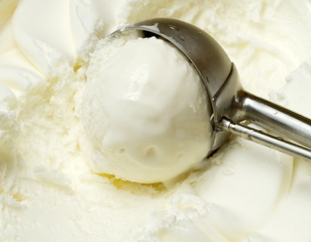 vanilla ice cream Stock Photo - 13191161