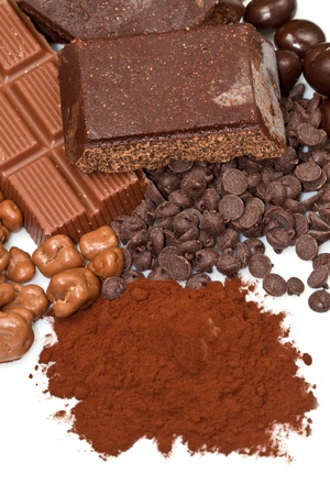 different kind of chocolate Stock Photo - 13191277