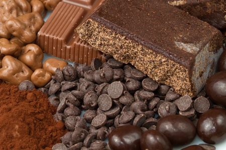 different kind of chocolate Stock Photo - 13191278