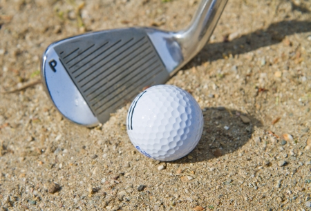 Golf Bunker Stock Photo - 13646089