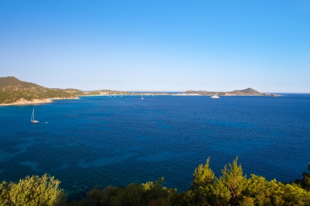 View of beautiful sea of Villasimius, in Sardinia, Italy Stock Photo - 14300805