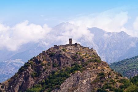 aosta: castle in Aosta