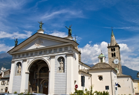 cathedral of Aosta photo