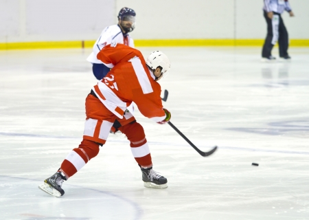 ice hockey player photo