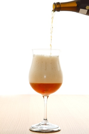 quencher: glass of beer