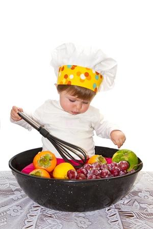 baby chef photo