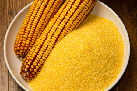 cornflour: Still life with maize products
