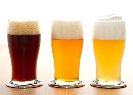different type of beer Stock Photo - 18364864