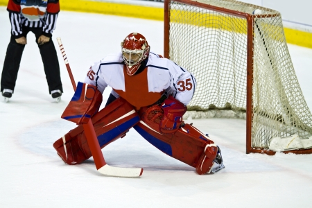 hockey goalie  photo