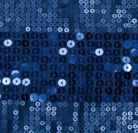 sequin: blue sequin background