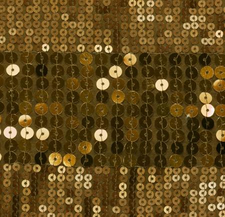 sequin: gold sequin background