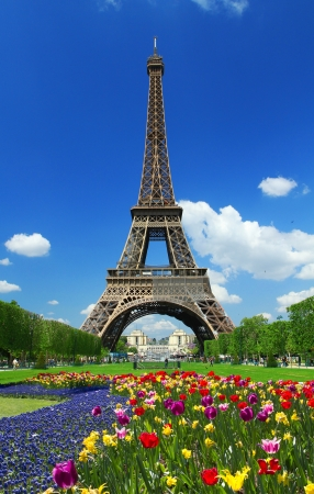 Paris, Tour Eiffel  写真素材