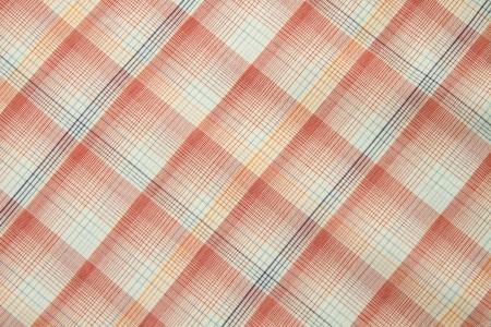 orange fabric texture for background photo