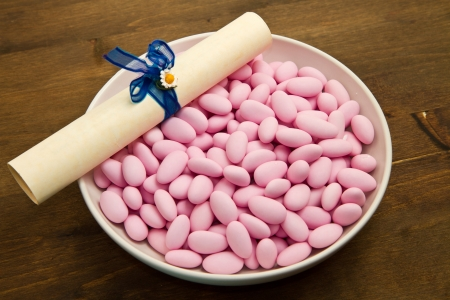 favours: Sugared Almonds