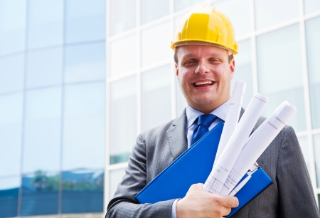 Portrait of an architect photo
