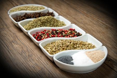ibn: spices ibn white box Stock Photo