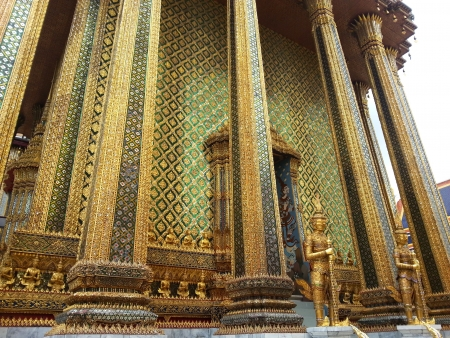 Buddhist temple in Thailand photo