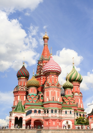 vasily: St Basils cathedral on Red Square in Moscow