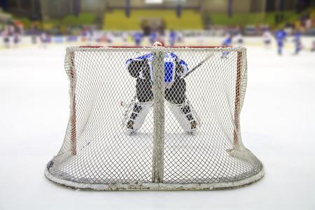rink: ice hockey players