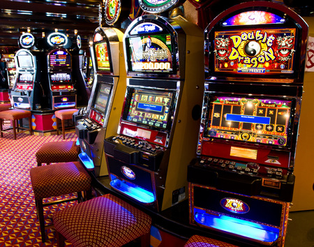 Machine à sous Banque d'images - 30552248